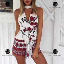 Sexy Floral Romper