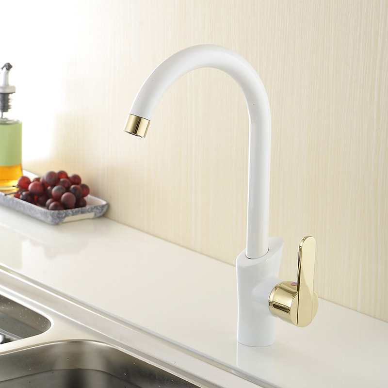 Popular Gold Kitchen FaucetsBuy Cheap Gold Kitchen Faucets lots – Brass Kitchen Sink