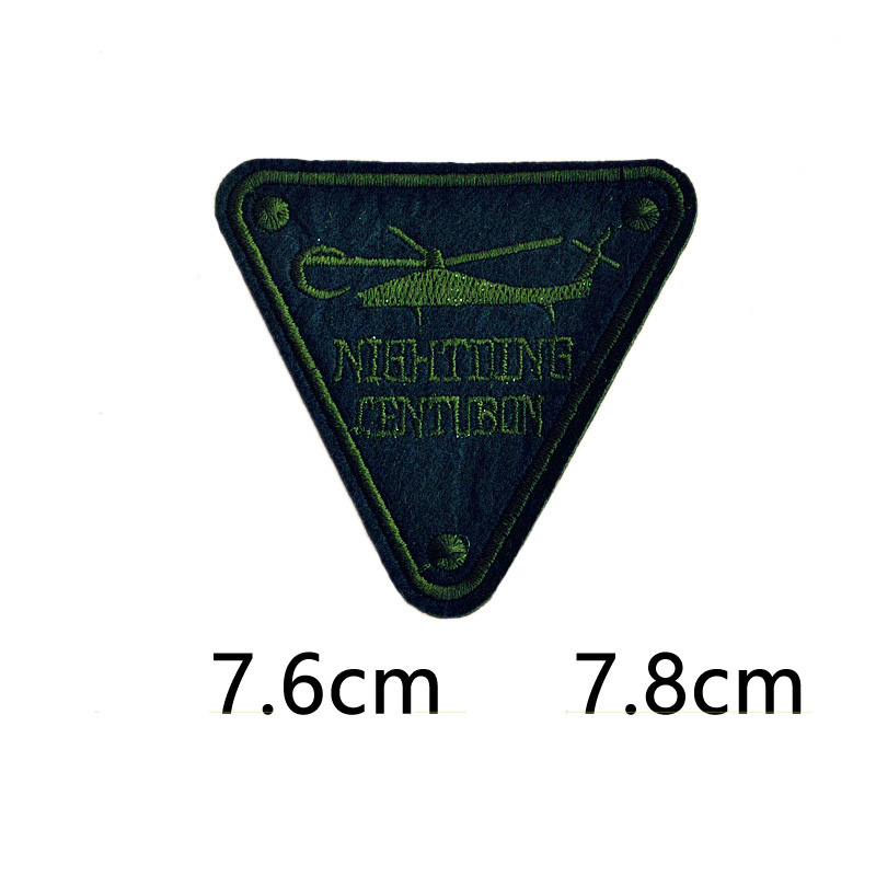 Aircraft Letters R Fabric Patch Embroidery Iron On Patches For Clothing Dresses DIY Decoration Clothes Stickers Applique Badge in Patches from Home Garden