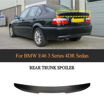 Carbon Fiber Car Rear Trunk Spoiler for BMW E46 Base Sedan 4-Door 1998-2005 Rear Wing Spoiler Boot Lid