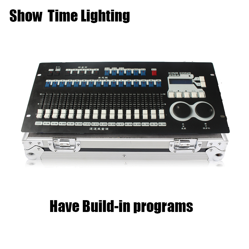 Fast Ship 256A DMX 512 Controller Flight Box Package With Built-in Program Easy Use For Beam Moving Led Par Light Show