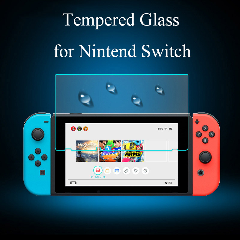 Premium Tempered Glass for Nintend Switch Screen Protector on Phone Film for Nintend Switch Nintendo Nitendo 2017 Tempered Glass-in Phone Screen Protectors from Cellphones & Telecommunications