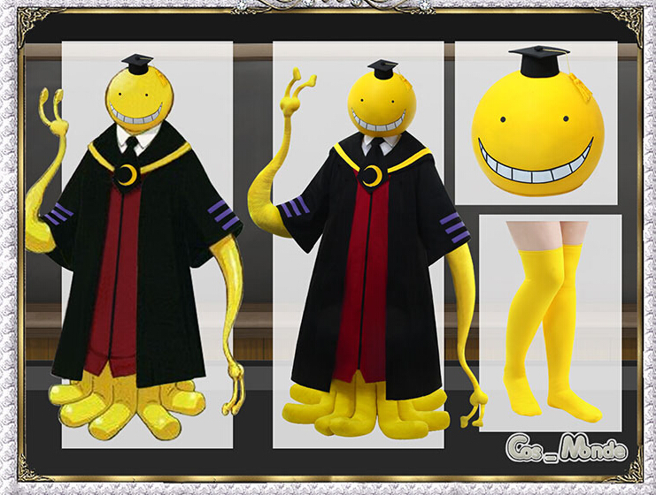 Assassination Classroom Korosensei octopus uniform cosplay costume customize for any size