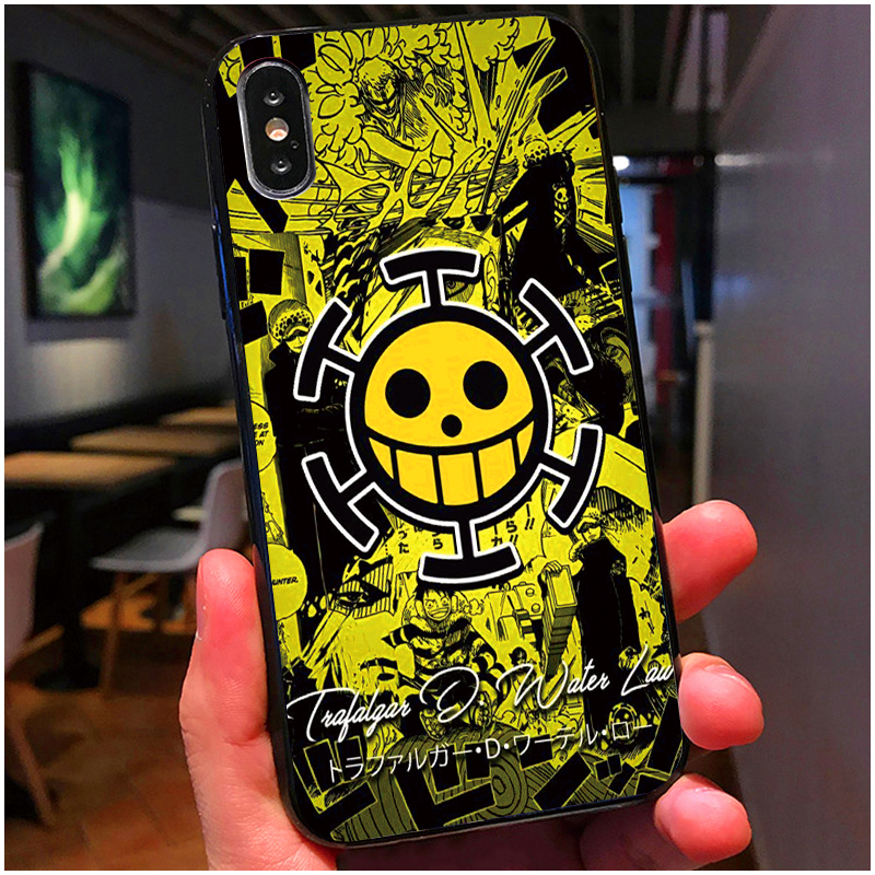 Fatperson Black Case For Iphone X 10 8 7 Plus Funny One Piece Art