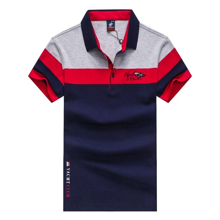 Tissu Manches 2018 Rayé À shirt T Gratuite Lettre Confort Excellent Livraison Yellow Conçu Gentleman Shark Mode red amp; Courtes Couleur Tace wx1qYPBp7