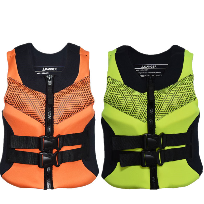 Sbart Professional Life Vest Neoprene Surfing Rafting Snorkeling PFD Inflatable for Child Adult Swimming Drifting Life Jacket men s life vest adult women s vest grey neoprene vest for surfing fishing swimming drifting