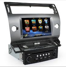 Free Shipping 2 Din Car DVD CD Player GPS Navigation for Citroen C4 2004 2005 2006 2007 2008 2009 2010 2011 with RDS AM FM USB