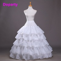 Doparty XS2 hoop skirt wedding rockabilly accessories bridal crinoline petticoat tulle dress quinceanera dresses ball gown