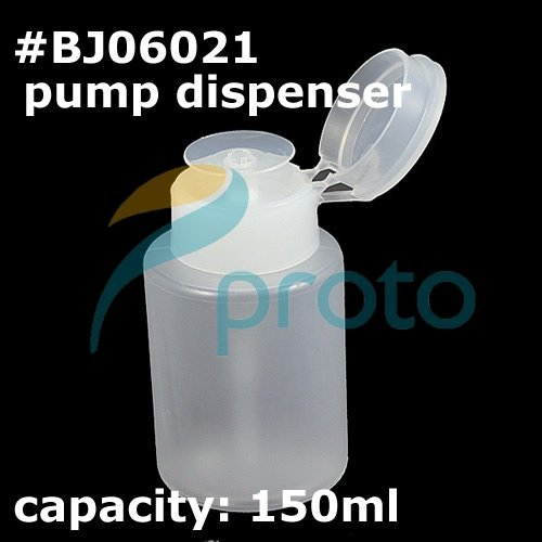 free shipping-Wholesale  pump dispenser for nail art acetone and polish remover  SKU:F0022XXX