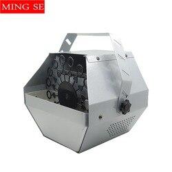 Mini máquina de burbujas 60 W remoto y control de cable efectos de etapa equipo para la boda entretenimiento etapa