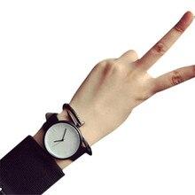 Women Watches Mens reloj mujer montre femme High Quality Beautiful Fashion Casual Women Faux Leather Quartz Analog Wrist Watch4*