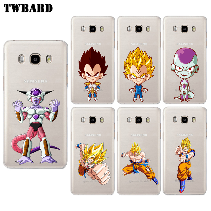 Cartoon <font><b>Dragon</b></font> <font><b>Ball</b></font> <font><b>Z</b></font> <font><b>Case</b></font> for Samsung Galaxy J3 J5 J7 Hard PC Son Goku <font><b>Phone</b></font> Cover for Galaxy J5 <font><b>Case</b></font>