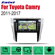ZaiXi Android 2 Din Auto Radio DVD For Toyota Camry 2011~2017 Car Multimedia Player GPS Navigation System Radio Stereo zaixi android 2 din auto radio dvd for toyota camry 2007 2011 car multimedia player gps navigation system radio stereo