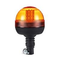 NEW LED Rotating Flashing Amber Beacon Flexible Tractor Warning Light 12V 24V Roadway Safety