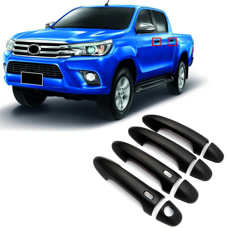 For Toyota Hilux Revo 2015 2016 2017 2018 font b Car b font Styling Exterior ABS