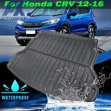 Carpet Boot-Mat Trunk Honda Crv CR-V Liner AX Cargo Floor for Rear Luggage-Tray