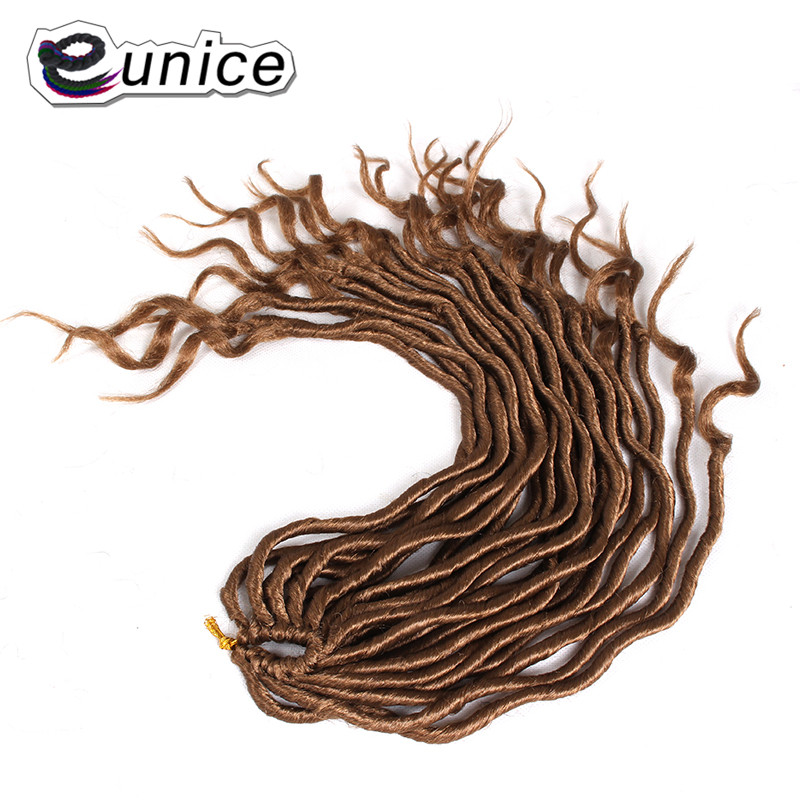 Faux Locs Curly Heat Resistant Synthetic Hair Extensions (116)