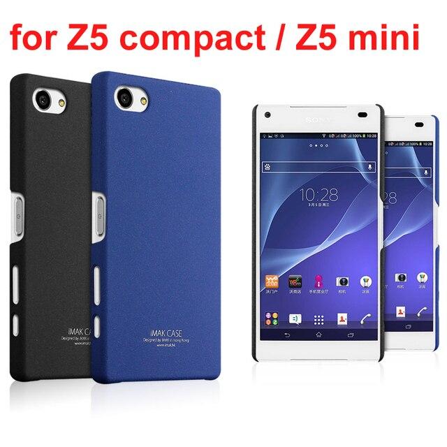 low priced e81d1 5832b US $5.49  Genuine Imak cowboy shell quicksand hard case for Sony Xperia Z5  Compact / Z5 mini Z5mini E5823 E5803 S50 (4.6 inch) on Aliexpress.com   ...