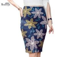 Bán Hot in women casual pencil skirts 2018 phụ nữ thiết kế thời trang vogue cô gái slim bottoms giá thấp OL làm việc váy
