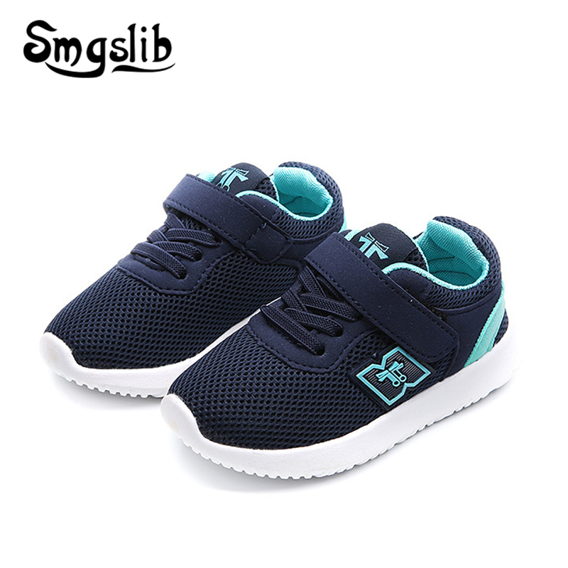 Children Shoes Girls Casual Sneakers Boys Air Mesh Kids Sports Trainers 2018 Spring Autumn Flat Toddlers Loafers Dropshipping