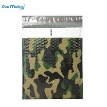 10pcs 8.5x11inch 235x280mm Camouflage color Plastic bubble mailer,Blend color poly bubble envelope wrap bag