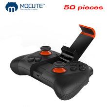 50 pieces Wholesale MOCUTE 050 Wireless Gamepad Bluetooth 3.0 Game Controller Joystick Mini Gamepads Game handle remote control