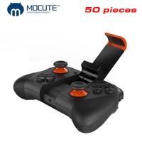 50 Pieces Wholesale MOCUTE 050 Wireless Gamepad Bluetooth 3 0 Game Controller Joystick Mini Gamepads Game