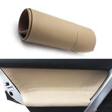 Pour Toyota Prado 2010 2011 2012 2013 2014 2015 2016 2017 2018 4 pièces/ensemble Voiture Porte Poignée Accoudoir Panneau Microfibre Couverture En Cuir