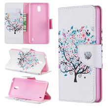 HUANGTAOLI PU Leather Flip Wallet Cover Case Card Slots For Nokia 3 5 6 3310 2017 Phone Mobile
