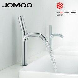 JOMOO Basin Faucet Reddot Award Chrome Bathroom Sink Faucet Mixer Tap Single Handle Single Hole Luxury Quality Faucet