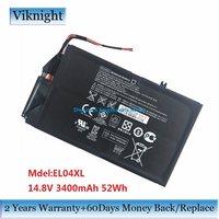Genuine 14 8V EL04XL Laptop Battery For HP ENVY 4 1000 TPN C102 HSTNN IB3R 681949