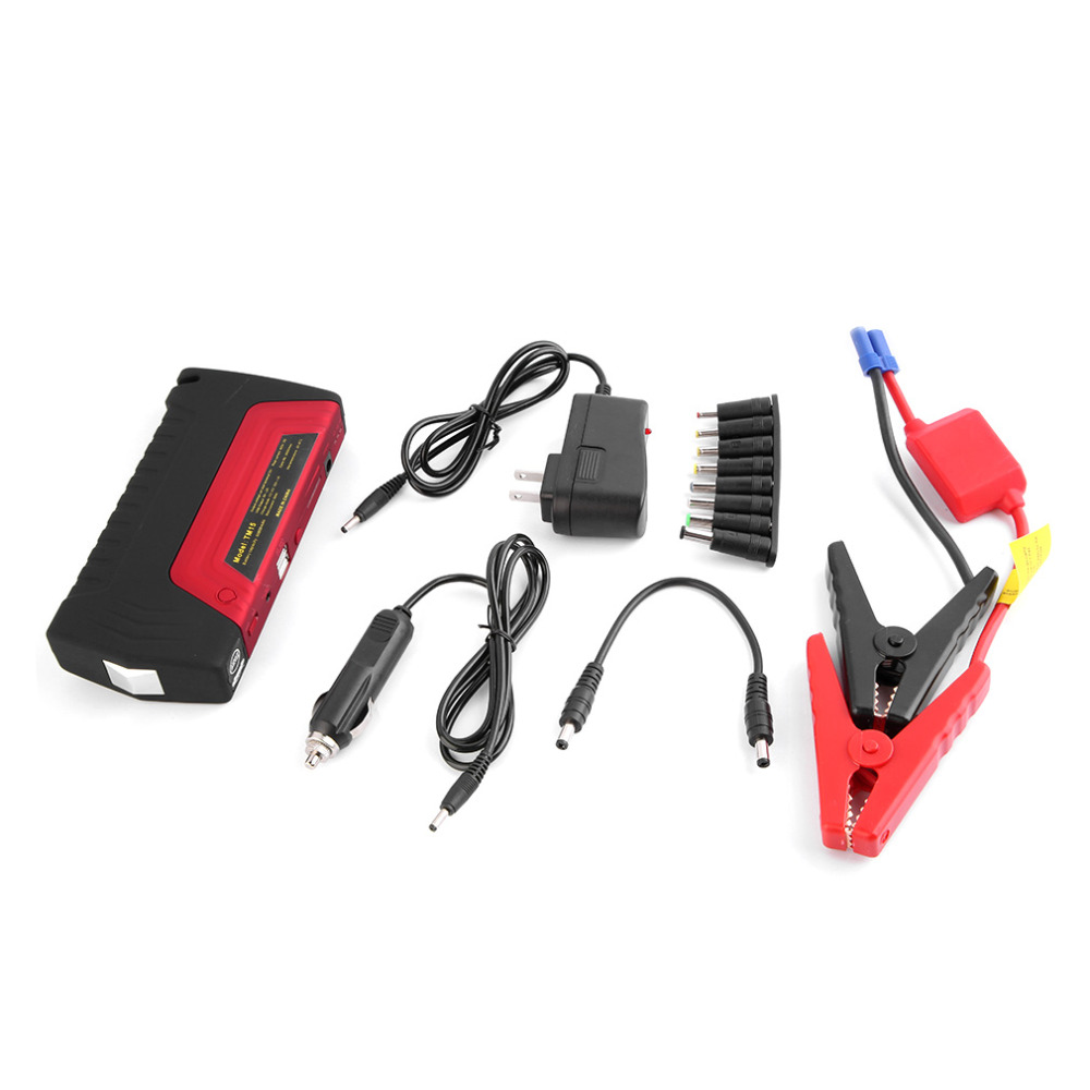 50800mAh Portable Car Jump Starter Power Bank Emergency Auto Car Jump Auto Battery Booster Pack Vehicle Jump Starter portable car jump starter 50800mah petrol car 12v emergency auto battery booster pack vehicle jump starter phone power bank