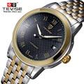 Relógio De Pulso Dos Homens do estilo britânico de moda Top Famosa Marca De Luxo Masculino Relógio mecânico Relógio de Ouro Relógio de Pulso Relogio masculino