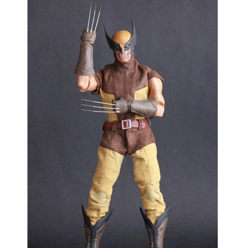 X-Men Superhero Wolverine James  Howlett Logan Cartoon PVC Action Figure Collectible Model Toy L2147X-Men Superhero Wolverine James  Howlett Logan Cartoon PVC Action Figure Collectible Model Toy L2147