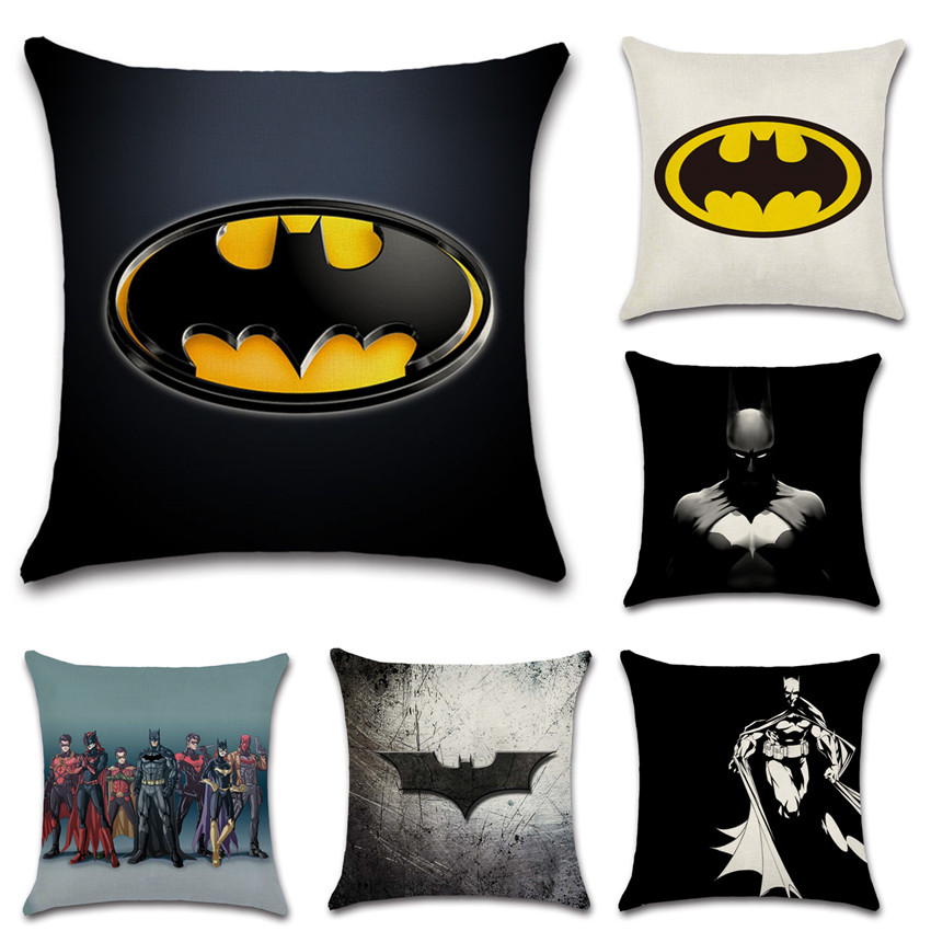 Super Us 4 6 23 Off Dark Knight Batman Super Hero Cushion Cover Party Decoration For Home House Sofa Chair Seat Pillow Case Kids T Friend Present In Machost Co Dining Chair Design Ideas Machostcouk