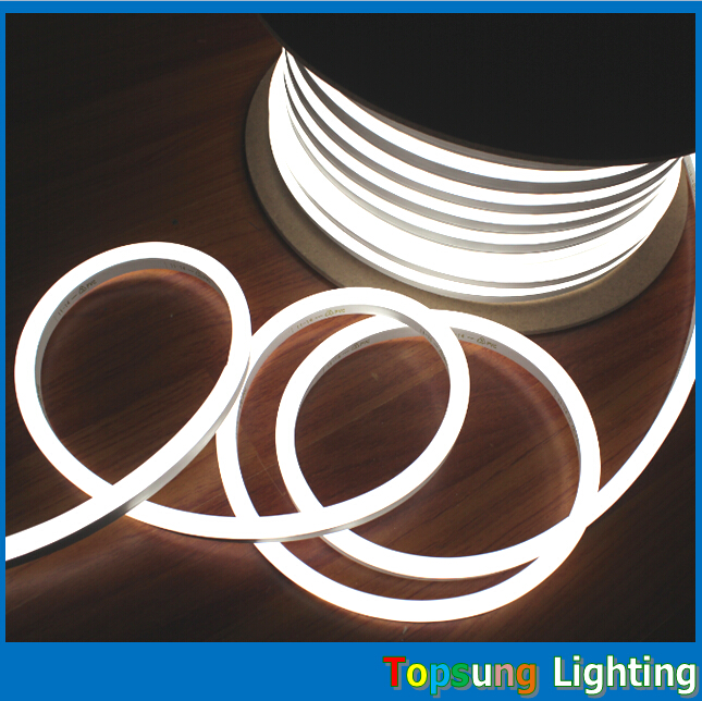 164feet (50meter) Spool 12V 11*18mm LED Neon Tube Flex Light Waterproof Outdoor Mini Fle ...