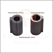 1 шт. червячный редуктор вала втулка 8/6. 35 мм вал шаговый двигатель до 11 мм редуктор отверстие адаптер сильный самоблокирующийся вертикальный выход