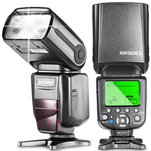 NEEWER NW-565 EXC E-TTL Flash de Speedlite de Escravo Difusor de flash para Canon 5D II/EOS Rebelde Digital/Rebelde Digital  T1i/Rebelde Digital T2i/EOS Rebelde SL1/EOS Rebelde T3 e todos os outros modelos de Canon