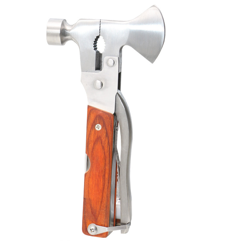 Romantisch Multifunktionale Outdoor Notfall Rettungs Fahrzeug Sicherheit Hammer Axt Eine Notfall Hammer Mit Der Axt Hammer Fenster Breaker 100% Garantie Werkzeuge