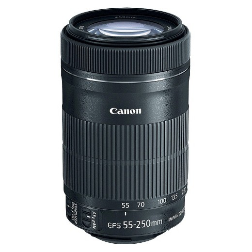 Canon 55-250 STM Objectif Canon EF-S 55-250mm f/4-5.6 IS STM Lentilles pour 800D 700D 750D 760D 1200D 1300D T3i T6 T5i T5 60D 70D 80D