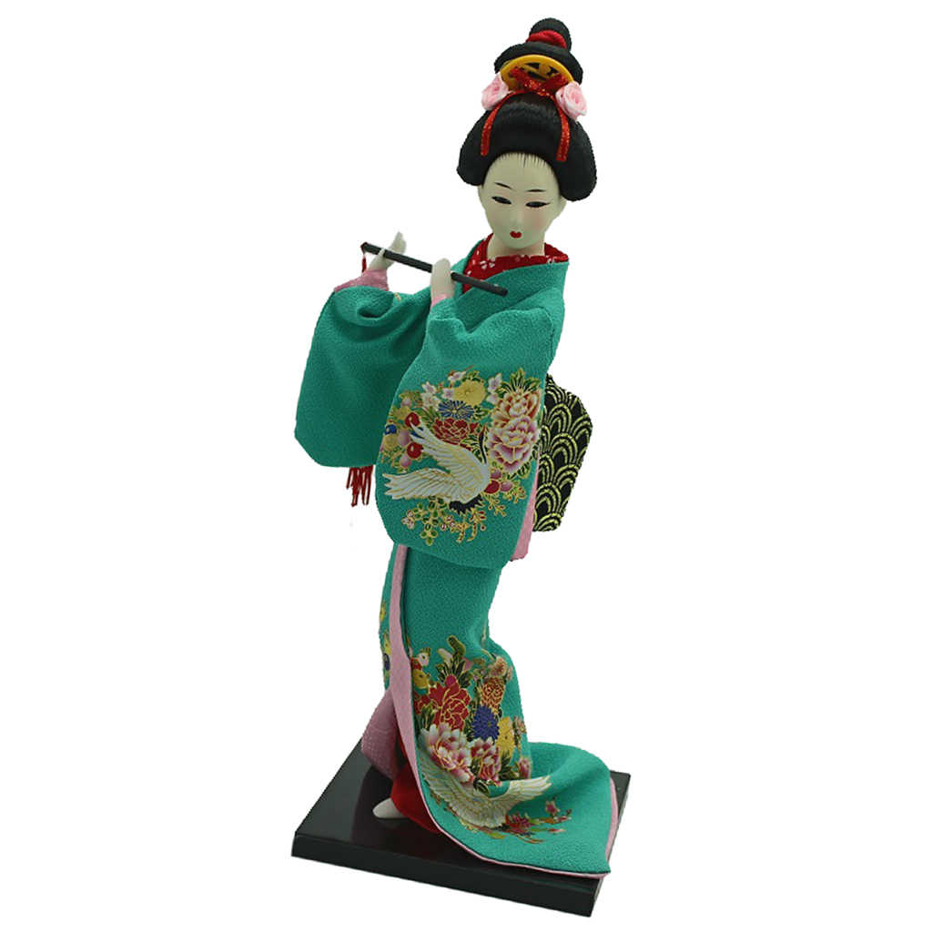 MagiDeal Japanische Samurai Puppe Orientalische Puppen Modell Geschenk