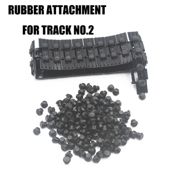 MOC Technic Parts Rubber Stopper Building Blocks bricks Thread ATTACHMENT for caterpillar Track compatible with lego toys 24375 new 50pcs cross axle series bricks model building blocks toy boy technic parts children toys compatible with lego bricks