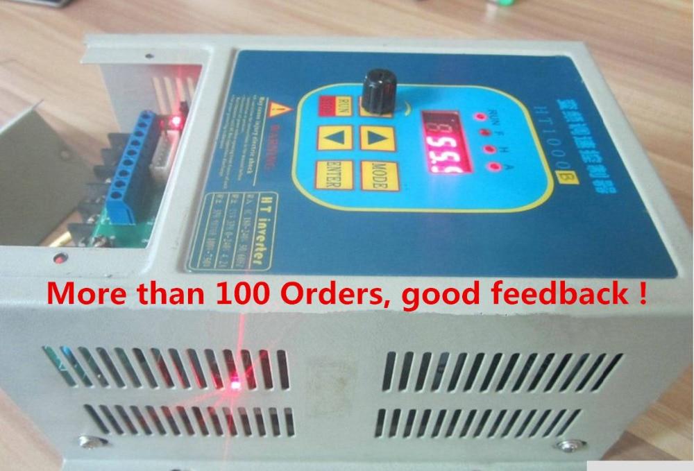 цена на VFD Used frequency converter inverter 7A CoolClassic HT1000B 220V 1.5KW drive 380V AC Motor Free Shipping