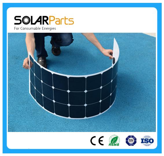 Boguang 1PCS 100W flexible solar panel 12V solar cell/module/system RV/car/marine/boat battery charger LED Solar  light kit .