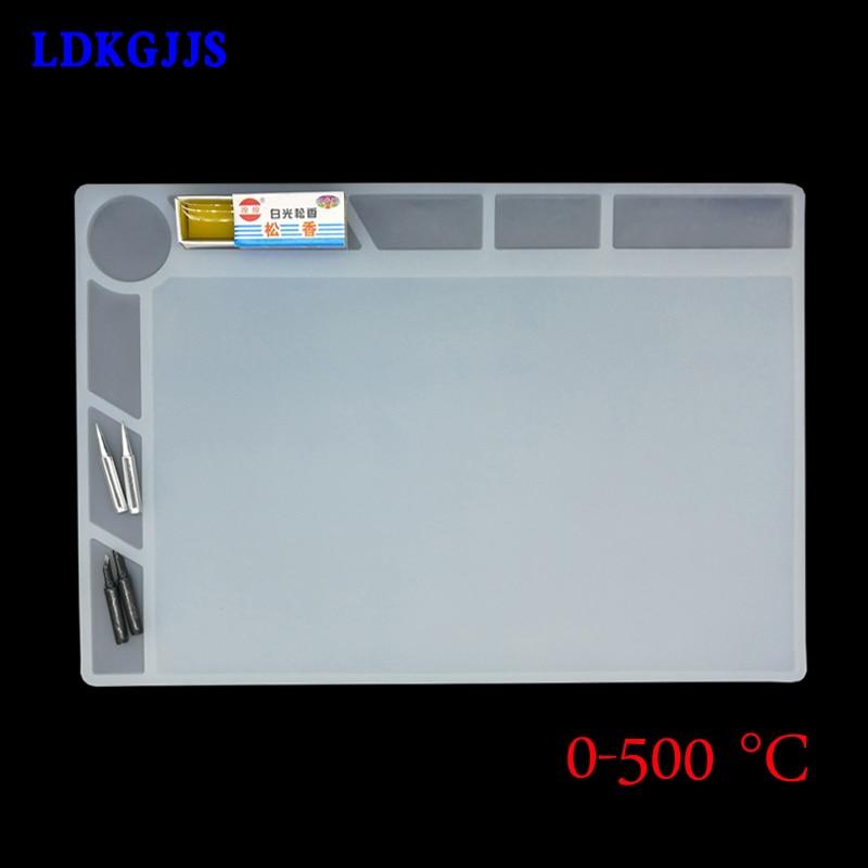 Heat-resistant Heat Gun BGA Mat Soldering Station Repair Insulation Pad Insulator Pad Desk Mat Maintenance Platform