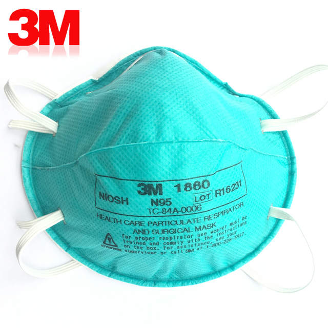 3pcs A Dust Masks lot Particles Mask Influenza 3m Prevention 1860
