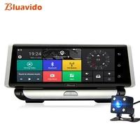Bluavido 8 Inch 4G Android Car DVR Camera ADAS GPS Navigation Full HD 1080P Car Video