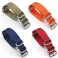 2017 Military Nylon Belt Strap Watch Band Wrist Watch Strap Watchband Wristwatch  Solid Color for Man Woman  18mm 20mm 22mm 24mm