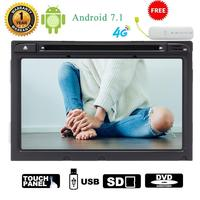 4G Dongle As Gift 8 Inch Android 7 1 2 Din Car Stereo Car DVD CD