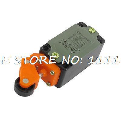 Metal Case Momentary Side Roller Lever Limit Switch NO NC SPDT 10A Ith limit switches plug in side plunger std 1nc 1no spdt